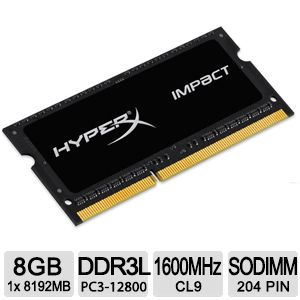 Kingston HyperX Impact 4GB Laptop Memory Kit