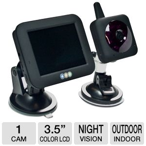 Kiddie Kam Wireless Car Baby Monitor