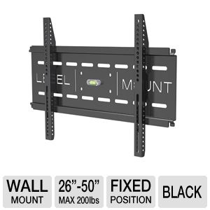 Level Mount LVMDC50LP Fixed TV Mount