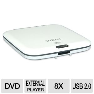Lite-On ETDU10896 External Slim DVD ROM