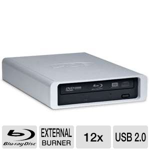 LaCie d2 12x Blu-ray w/ USB 2.0 and FireWire