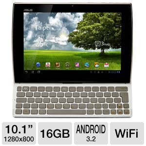 "ASUS 10.1"" 16GB Android 3.2 Tablet PC"
