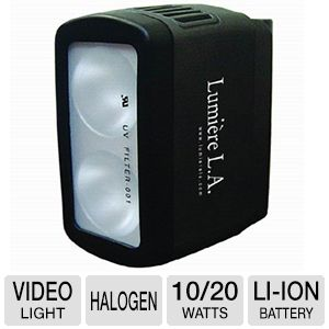 Lumiere L.A. DUAL 3200K Portable Halogen kit
