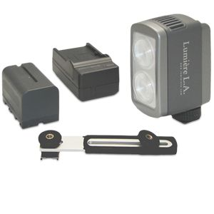 Lumiere L.A. VLDUO Portable LED Video Light Kit