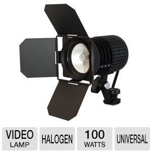 Lumiere 100w Halogen Video Lighting Kit