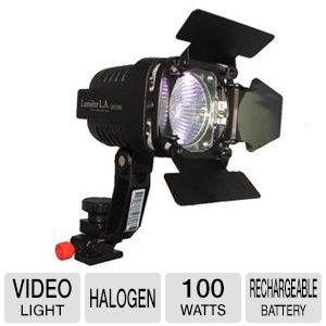 Lumiere Tungsten 3200K Halogen Video Lighting Kit