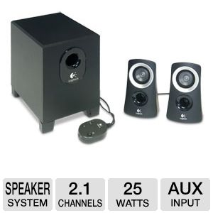 Logitech Z313 Computer Speaker System