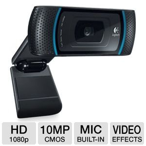 Logitech C910 960-000597 Pro Webcam