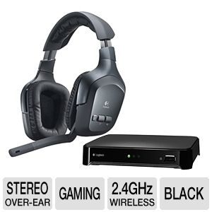 Logitech Wireless Headset F540 For PS3/Xbox 360