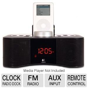 Logitech S400i Clock Radio Dock