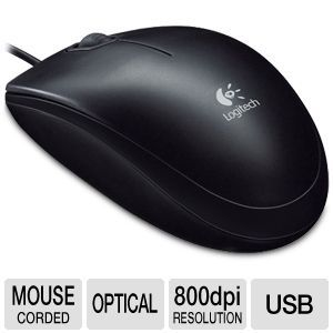 Logitech B100 USB Optical Mouse OEM
