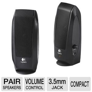 Logitech S-120 2.0 Multimemedia Speakers 