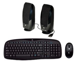 KEYBOARD, MOUSE & SPEAKER COMBOS