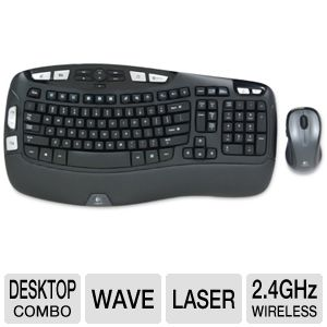 Logitech MK550 Wireless Wave Mouse and Keyboard 