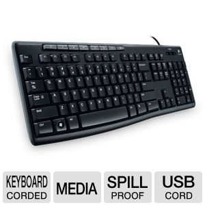 Logitech K200 920-002719 Media Keyboard