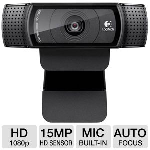 Logitech C920 HD Pro Webcam