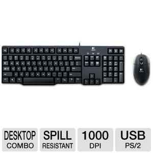 Logitech MK100 Keyboard and Mouse Combo