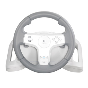 Logitech Speed Force Wireless Wheel - Wii
