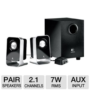 Logitech LS21 2.1 Stereo Speakers