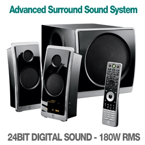 Logitech Z Cinema Advanced Surround Sound System
