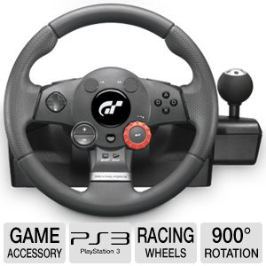 Logitech Driving Force� GT PS3/PS2 Gaming Wheel