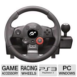 Logitech Driving Force GT for PC and PS 3