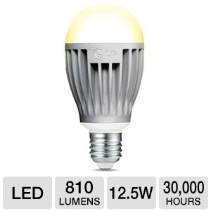 LG A19 12.5W 810lm LED Light Bulb