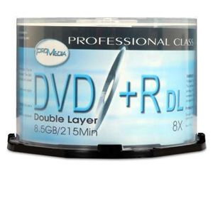 Lead Data DVD+R DL Spindle