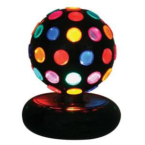Lumisource Multi Colored Rotating Disco Ball