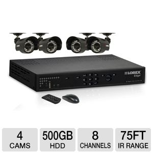 Lorex DVR and Camera Surveillance System