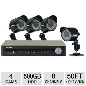 Lorex ECO 8 Channel Security Camera System