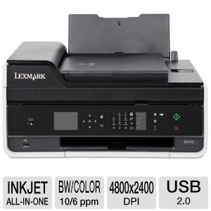 Lexmark S415 Wireless All-In-One Inkjet Printer