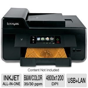 Lexmark Pro915 WiFi All-In-One Printer w/ Duplex