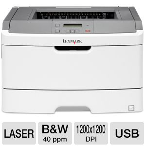 Lexmark E360D Mono Laser Printer w/ Duplex