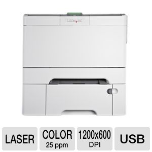 Lexmark C546dtn Color Laser Printer Network/Duplex
