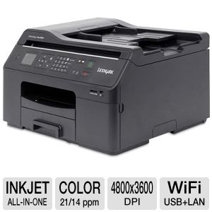 Lexmark OfficeEdge Pro4000 WiFi All-in-One