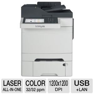 Lexmark CX510dthe Laser MultiFunction Printer
