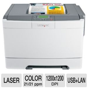 Lexmark C540n Color Laser Printer with Networking