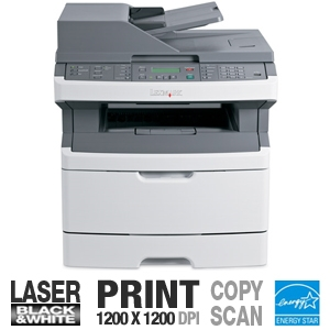 Lexmark X363dn Black and White Laser Printer