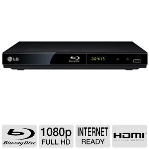 LG BP200 1080p Video Upscale Blu-ray Player