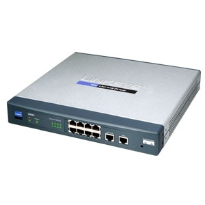 Cisco RV082 8-port 10/100 VPN Router - Dual WAN