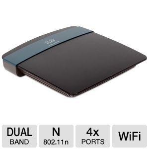 Linksys App-Enabled N600 Dual Band N Router