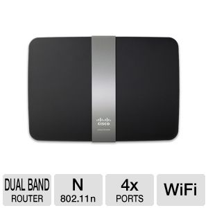 Linksys App-Enabled N900 Dual Band N Router
