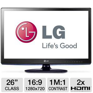 LG 26LS3500 26&quot; Class LED HDTV