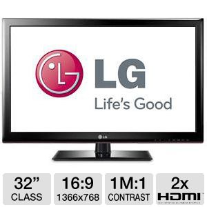 LG 32LS3450 32&quot; 720p 60Hz LED HDTV 