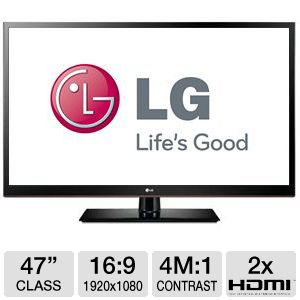 LG 47LS4500 47&quot; 1080p 120Hz Edge LED HDTV