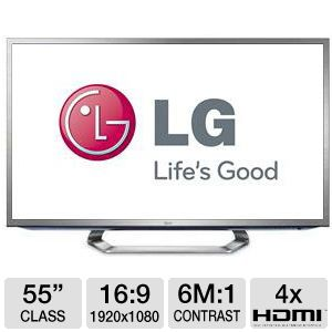 "LG 55"" WiFi Ready LED 3D Google HDTV"
