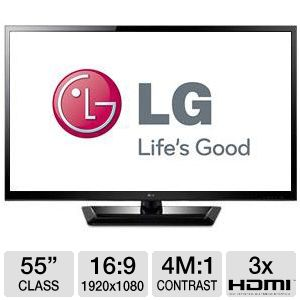LG 55LM4600 55&quot; 1080p 120Hz LED 3D HDTV