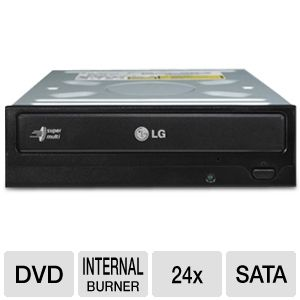 LG Internal 24X DVD Writer in Black