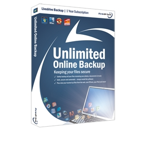 Livedrive Backup - Unlimited Online Storage
